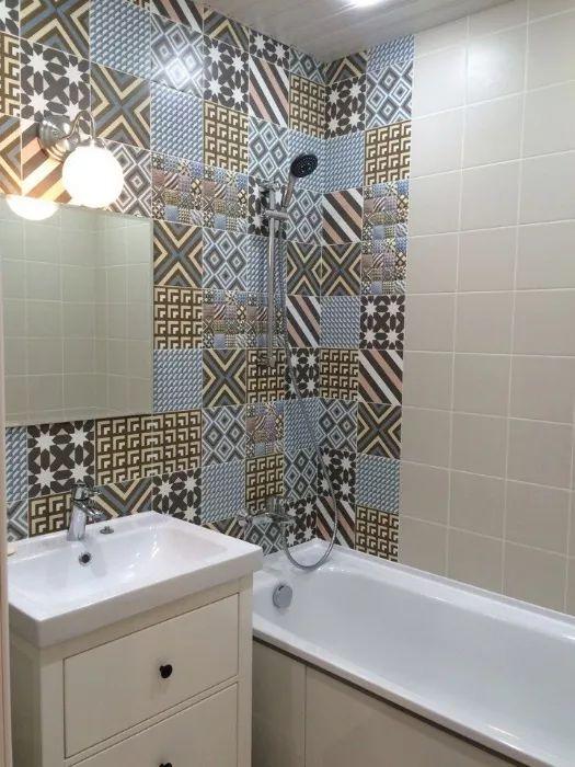Ремонт ванной и туалета 528 серии
