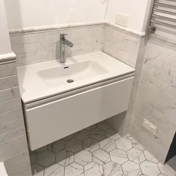 Ремонт ванной комнаты 3.8 кв.м