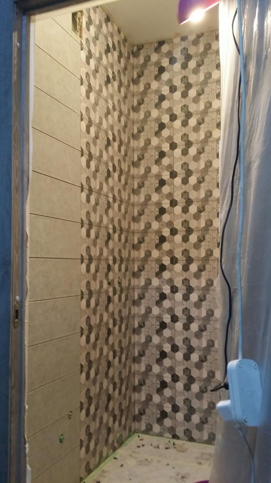 Ремонт ванной комнаты 3.24 м²