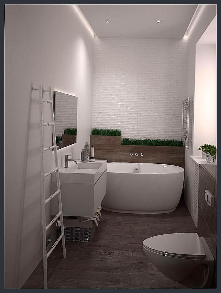 Ремонт ванной комнаты 8.5 кв.м с окном
