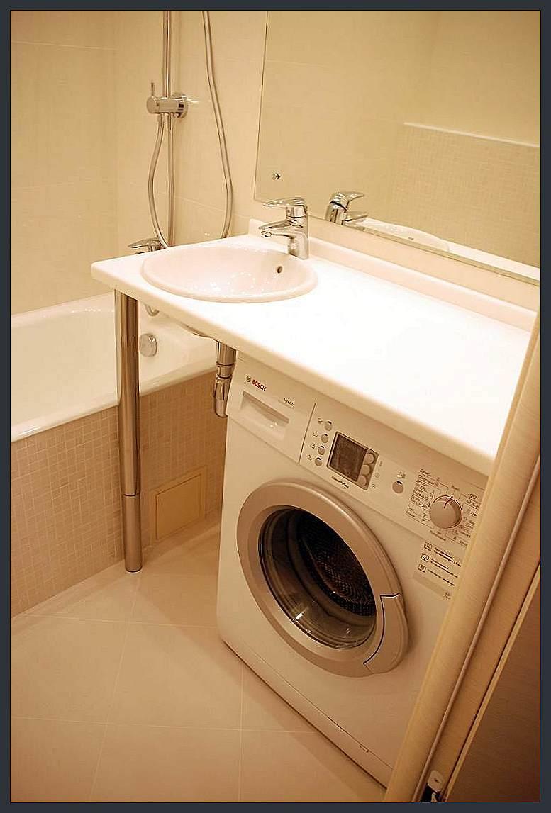 Ремонт небольшой ванной комнаты серии п44